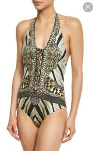 Camilla Franks Weave of the Wild One Piece Swimsuit Size 8 XS Small $4 EXPRESS
