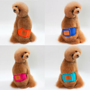 Pet Sanitary Panties Male Dog Diapers Nappy Belly Band Wrap Safety Underwear
