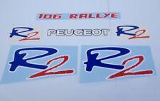Peugeot 106 Rallye R2 full decals stickers graphics adesivi aufkleber