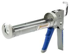 Newborn 930-Gtd Drip-Free Smooth Hex Rod Cradle Caulking Gun with 10oz, Blue