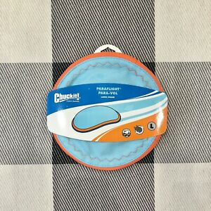 Chuckit! Dog Fetch Games Paraflight Flying Disc Frisbee Floating Toy LARGE New