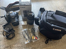 Canon EOS Rebel T3i Camera And 75-300mm Lens + Bag
