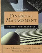 Financial Management: Theory and Practice (9th Edition), 1999. hardcover