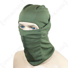 Olive Green Balaclava - Lightweight Breathable Tactical Military Army Skiing New