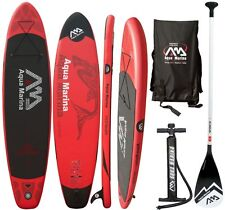 AQUA MARINA Monster SUP inflatable Stand Up Paddle mit Sport Alu Paddel