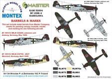 Montex KAM 1:32 Me-109 K-4 #1 for Hasegawa Mask +Metal Part #KAM32004