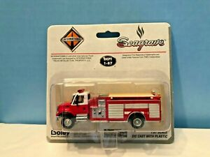 Boley HO #185-205971 FIRE PUMPER//citerne avec 4-porte cabine double Blanc//Rouge