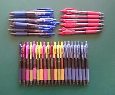 RARE 90s ZEBRA SARASA GEL ROLLERBALL PENS - Medium 0.7mm varied rare colours