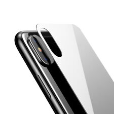 For iPhone X 7 8 Plus BASEUS Genuine 9H Back Tempered Glass Protector Protection