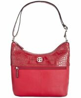 Giani Bernini Pebble Crocodile Hobo, Various Colors