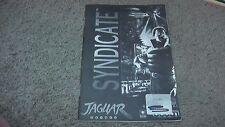instruction manual booklet only - no game - syndicate atari jaguar