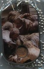 """The Walking Dead Costume Dog Tag CR11 of 14 """"Cabin Walkers"""" Season 3"""
