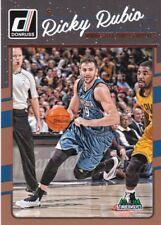 2016-17 Panini Donruss baloncesto walker #127 Ricky Rubio