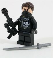 LEGO MARVEL THE PUNISHER MINIFIGURE FIGURE - MADE OF GENUINE LEGO PARTS