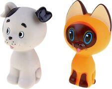 Set of 2 toys for bath - Kotenok Gav and schenok Sharik - new