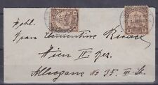 """GNG1) German New Guinea 1913 clean """"Bantam"""" cover to Hien, Netherlands"""
