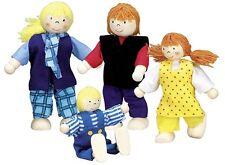 Biegepuppen aus Holz Puppenhaus Goki Biegepüppchen Puppenhaus