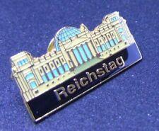 Berlin Souvenir 'German Reichstag Berlin' memoribilia metal pin accessory, PB009