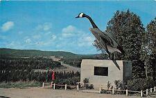 WAWA ONTARIO CANADA THE WILD GOOSE HUDSON'S BAY COMPANY POSTCARD 1965