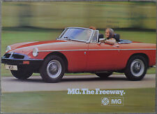 MG MGB MGBGT Midget V8 full line 1975 brochure - 8 page great condition