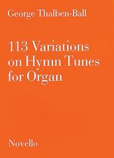 113 Variations on Hymn Tunes for Organ Sheet Music NEW 014036741