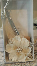 Burlap and lace Pen Set by Lillian Rose, PEN560, Burlap Pen set, Wedding pen set