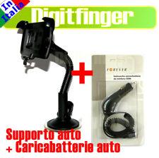 SUPPORTO AUTO VENTOSA + CARICABATTERIE PER HTC WILDFIRE