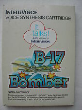 * INTELLIVISION INTELLIVOICE COMPLET B-17 BOMBER N° 3884 DE 1982