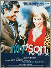 Affiche MY SON THE FANATIC Udayan Prasad OM PURI Rachel Girffiths 40x60cm *