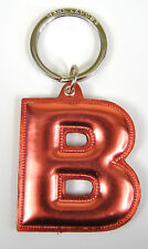 Marc by Marc Jacobs Alphabet Letter Initial Key Ring Chain Charm Holder Pink B