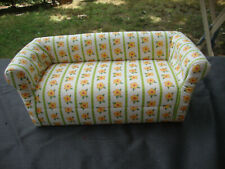 American Girl Angelina Ballerina retired yellow floral couch furniture dollhouse