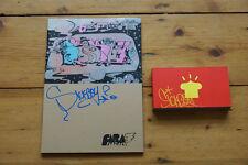 """SICKBOY """"Carafanzine 3""""- fanzine retouché main +flick book animé - sign-num/75"""