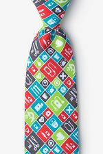 Men's Microfiber Doctor Medical Tools Medicine Nurse Novelty Tie Necktie