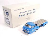 CMC 1:18 Scale M-036 Mercedes Benz 1954 Renntransporter & Accessories Mint Boxed