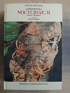 Fauna d'Italia  - Lepidoptera - Noctuidae  . II di E.  Berio