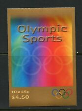 U639 Australia 2000 Olympic sports Complete Booklet Mnh