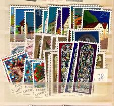1978 MNH Jaargang/ year collection, Liechtenstein, postfris