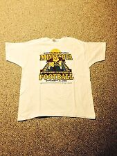 University Of Minnesota Gophers 1999 Sun Bowl T-Shirt Oregon Ducks