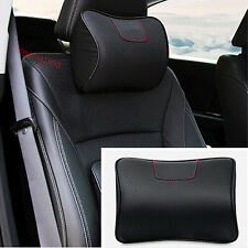 FOR Honda CRV CR-V 12 - 2016 Ergonomic Genuine Leather Auto Car Headrest Pillows