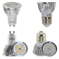 20/10/4x High Power 6W GU10 E27 LED Bulbs Spotlight SMD Lamp Spot Bulb GU 10 ES
