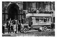 pt5266 - York Minster , Burnley Motor Bus outside , Yorkshire - photograph 6x4