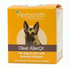 New listing Herbsmith Clear AllerQi – Allergy Aid for Cats and Dogs