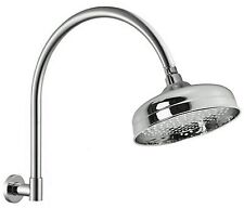 SHOWER Extra large HEAD with Swivel ARM Bar HAMPTONS VICTORIAN FEDERATION CHROME