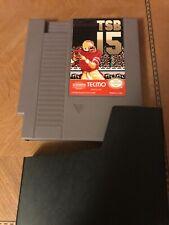 Tecmo Super Bowl 15 Nintendo Game
