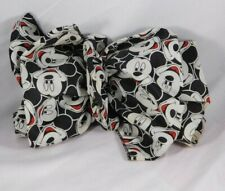 Vintage Disney Mickey Mouse Unlimited Hair Bow Barrette Face Print