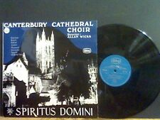 SPIRITUS DOMINI  Canterbury Cathedral Choir  LP    Lovely copy !!