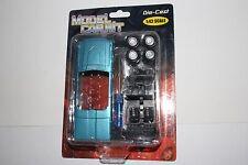 MODEL CAR KIT, 1:43 SCALE DIE CAST, BLUE