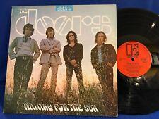 THE DOORS WAITING FOR THE SUN EKS 74024 ORANGE LABEL ORIGINAL UK LP EXC