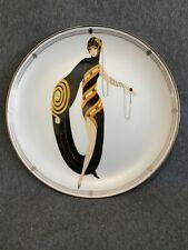 Pearls And Emeralds Franklin Mint House Of Erte Sevenarts Ltd Ed Plate - Ha6892