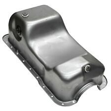 Oil Pan Ford Mustang 5.0L 1983-93 Dual Sump OEM Style - RAW FINISH